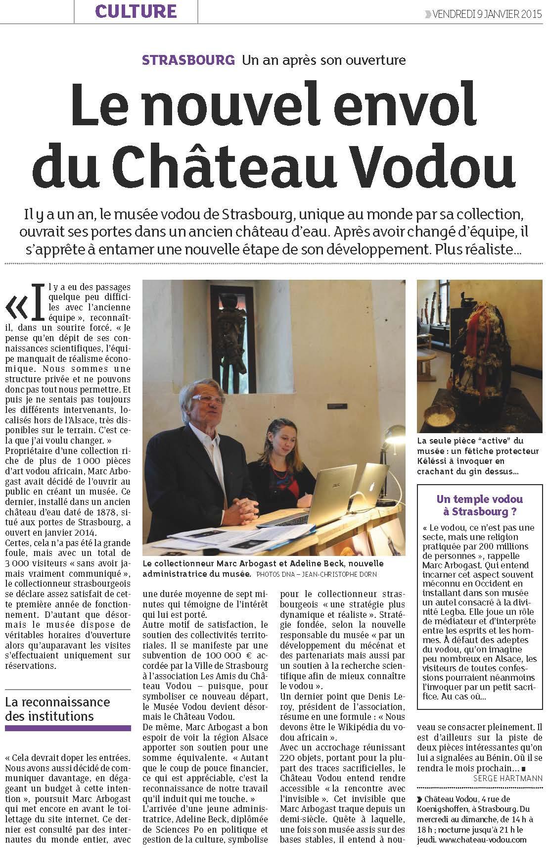 DNA 090115 - Le nouvel envol du Château Vodou