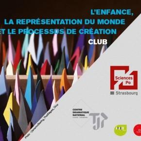 L'enfance, la représentation du monde et le processus de création - TJP