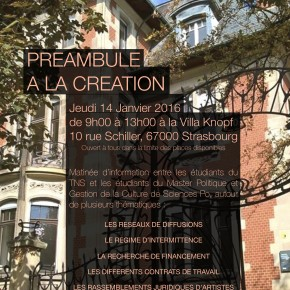 PREAMBULE A LA CREATION - TNS