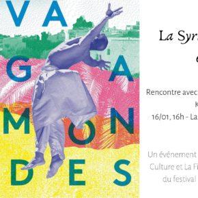"""16 janvier 2019 : Rencontre """"La Syrie Art en exil"""""""
